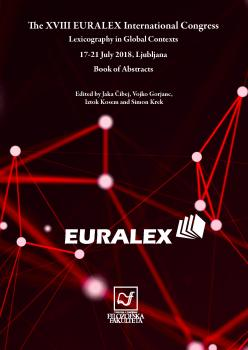 Naslovnica za The XVIII EURALEX International Congress. Lexicography in Global Contexts: Book of Abstracts
