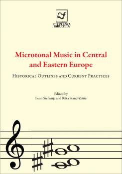 Naslovnica za Microtonal Music in Central and Eastern Europe: Historical Outlines and Current Practices